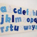 Boys Alphabet Wall Decorati..